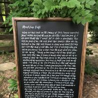 Do Write By Me Wedding Sign